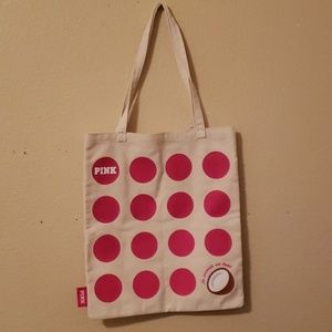 PINK coconut tote!